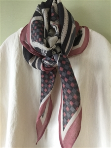 (Pre-Order) Pink Belt Scarf (will ship within 1~2 weeks)