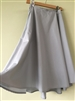 MintSkyBlue Coating Cotton Wrap Skirt