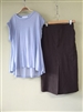 (Pre-Order) Brown Linen Pocket Skirt
