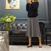 (Best; 3rd Reorder) Gray Knit Skirt