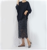 (Best; 3rd Reorder) Charcoal Lace Skirt