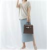 (Best; 2nd Reorder) SyBlue Linen Knit Skirt