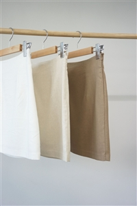 Franky High Skirt (Ivory/Oatmeal/Camel) (S/M (will ship within 1~2 weeks)