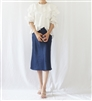 Navy R Carrie Skirt (Navy/Pink/Violet) (S/M) (will ship within 1~2 weeks)