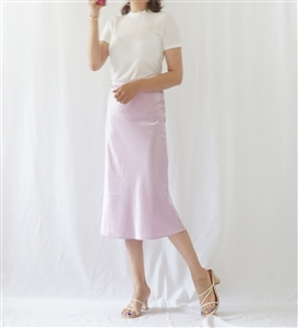 Violet R Carrie Skirt (Navy/Pink/Violet) (S/M) (will ship within 1~2 weeks)