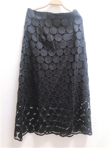 Black Isabel Lace Skirt (M) (will ship within 1~2 weeks)