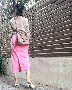 Pink Spring Color Skirt (will ship within 1~2 weeks)