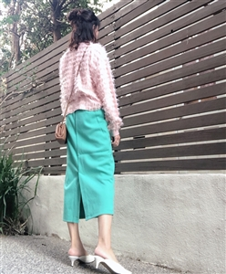 Mint Spring Color Skirt (will ship within 1~2 weeks)