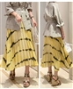 Yellow Print Skirt (will ship within 1~2 weeks)