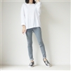 (2nd Reorder) Wide Sleeve Tee (Ivory/Khaki/Charcoal)