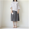 (3rd Reorder; Our Choice) Beige Stripe T