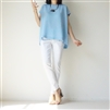 SkyBlue Boxy Blouse