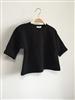 Black Kids Cute Wide Top (S; 2~3 Y)