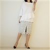 White Unbalance Shirring T