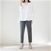 White A Line Luxury Cotton Top