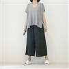 Gray V Neck Summer Knit