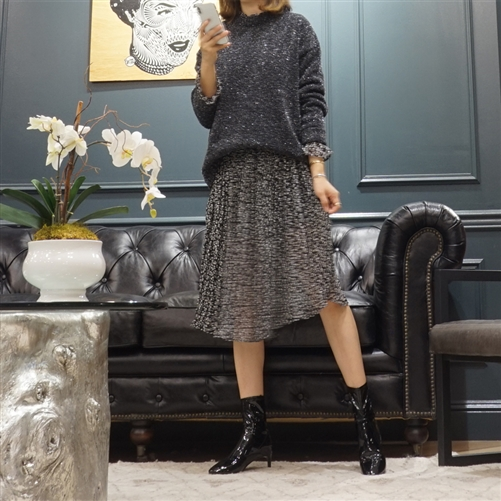 (Best; 2nd Reorder) Black Pearl Knit