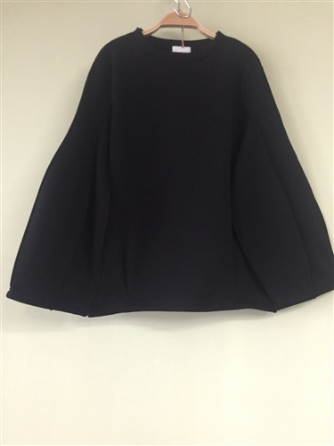 (Pre-Order) Black Pintuck Top (will ship within 1~2 weeks)