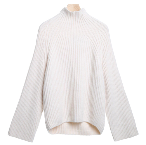 (Best; Back-Order; 3rd Reorder) Ivory Acne Line Knit (will ship within 1~2 weeks)