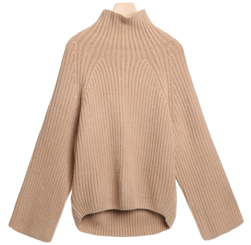 (Best; Back-Order; 3rd Reorder) Beige Acne Line Knit (will ship within 1~2 weeks)