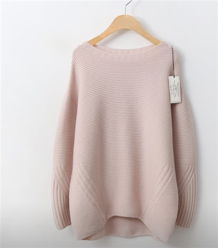 (Best; Back-Order; 2nd Reorder) Pink WholeGarment Knit (will ship within 1~2 weeks)