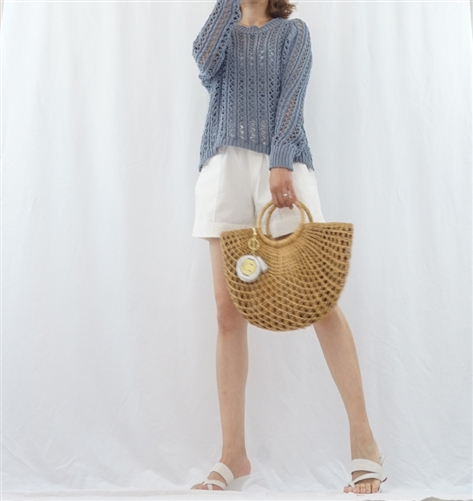 (BeachDaySpecial; Best; 2nd Reorder) Blue Summer Knit