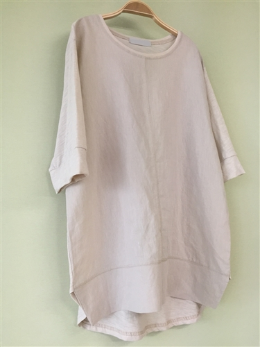 (Pre-Order) PinkBeige Line Top (will ship within 1~2 weeks)