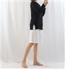 (Best; 2nd Reorder) Black Linen Top