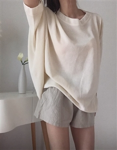 (Pre-Order) Ivory Summer Volume Knit  (will ship within 1~2 weeks)