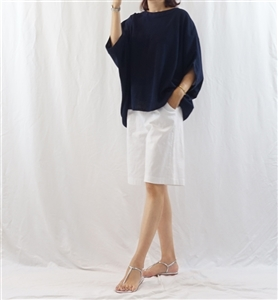 (Best; Back-Order; 2nd Reorder) Navy Summer Volume Knit  (will ship within 1~2 weeks)