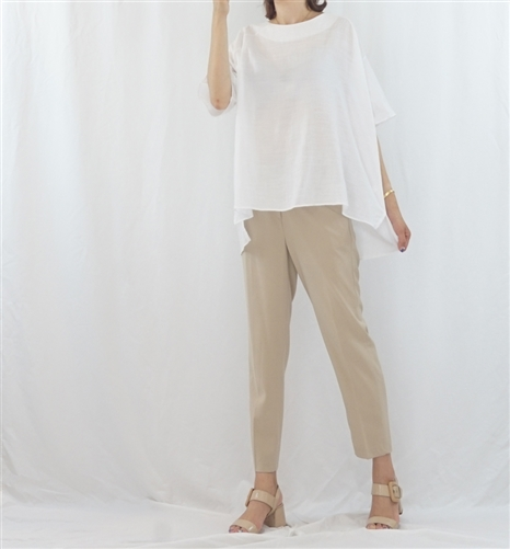 (Best; 2nd Reorder) White Linen Cotton Blouse