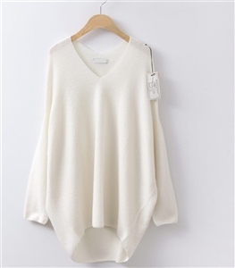 Ivory Wholegarment Stylish Knit