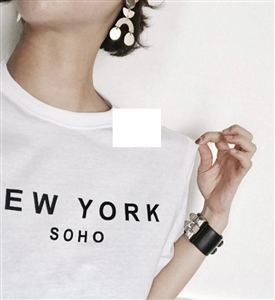 (~01/29) Soho T (White/Black) (will ship within 1~2 weeks)