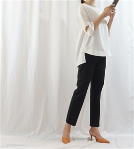 Ivory Unique Blouse (will ship within 1~2 weeks)