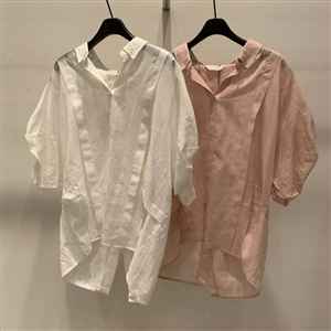 Vanessa Blouse (Ivory/Pink/SkyBlue/Green) (will ship within 1~2 weeks)