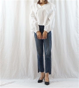 White Sera Blouse