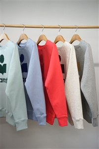 Man to Man Sweats (Mint/Blue/Pink/Oatmeal/Gray) (will ship within 1~2 weeks)
