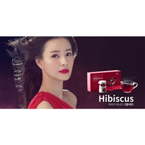 Organic Roselle Hibiscus Powder 1 Bottle (손태영 히비스커스 파우더)