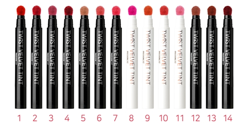 NEW COLORS ADDED [PASSIONCAT] TWIST VELVET TINT (1~14)