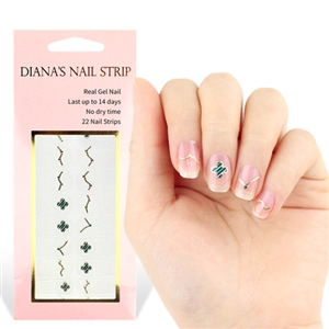 [Diana's Nail Strip] Nail Sticker 107