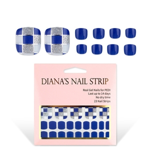 [Diana's Nail Strip] Pedi Sticker 117