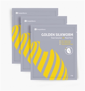 FanipinKorea Golden Silkworm Total Solution Silk Mask (1Box=3ea)