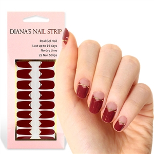 [Diana's Nail Strip] Nail Sticker 145