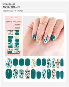 [Diana's Nail Strip] Nail Sticker 189