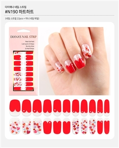 [Diana's Nail Strip] Nail Sticker 190
