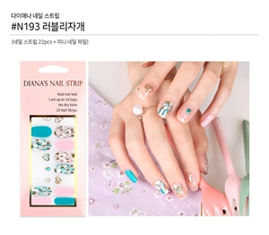 [Diana's Nail Strip] Nail Sticker 193