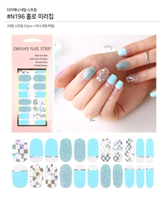 [Diana's Nail Strip] Nail Sticker 196