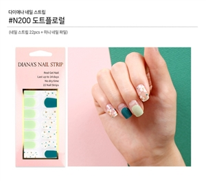 [Diana's Nail Strip] Nail Sticker 200
