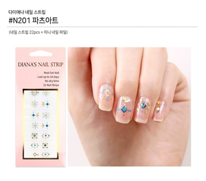 [Diana's Nail Strip] Nail Sticker 201