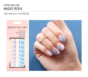 [Diana's Nail Strip] Nail Sticker 202